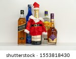 some popular alcohol  gordon ... | Shutterstock . vector #1553818430