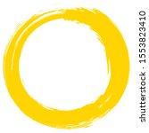 grunge circle brush stroke...   Shutterstock .eps vector #1553823410