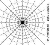 cobweb for halloween design ...   Shutterstock .eps vector #1553920016