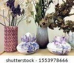 Designer Ceramic Vases With Dry ...