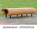 New Benches With Wooden Floors...