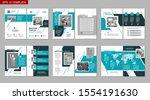 brochure creative design.... | Shutterstock .eps vector #1554191630
