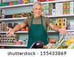 Senior Salesman With Arms...