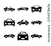 car icon isolated sign symbol... | Shutterstock .eps vector #1554378656