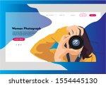 web page photography design...