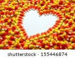 Candy Corn Heart