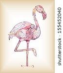 flamingo | Shutterstock .eps vector #155452040