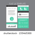abstract paper panel banners...
