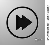 fast forward button. vector   Shutterstock .eps vector #155468054