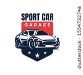 Sport Car Badge Logo Design...