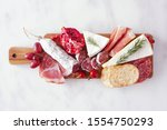 Serving Board Of Assorted Meat...