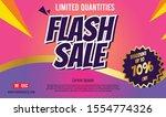 flash sale modern design for...   Shutterstock .eps vector #1554774326