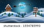 Santa Clause And Reindeers...