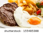 Grilled Steaks  French Fries ...