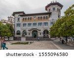 santander  spain   jun 20  2017 ... | Shutterstock . vector #1555096580