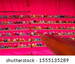 dolls that are arranged in the... | Shutterstock . vector #1555135289
