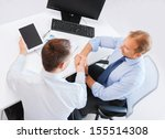 businesss and office concept  ... | Shutterstock . vector #155514308