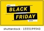 best offer black friday banner...   Shutterstock .eps vector #1555199543
