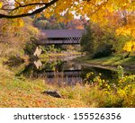 New England Covered Bridge In...