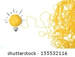 concept of idea and innovation... | Shutterstock . vector #155532116