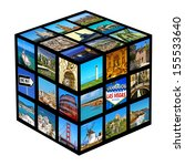 Cube With Pictures Of Differen...