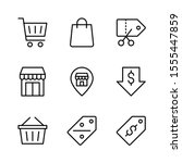 ecommerce outline vector icon...
