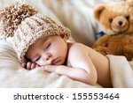 baby boy  sleeping | Shutterstock . vector #155553464