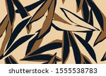 hand drawn abstract pattern.... | Shutterstock .eps vector #1555538783