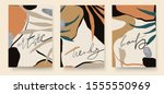 abstract trendy universal... | Shutterstock .eps vector #1555550969