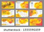 presentation templates ...   Shutterstock .eps vector #1555590359