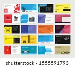 creative and clean business...   Shutterstock .eps vector #1555591793