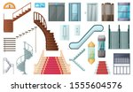 Staircase And Lift Vector...