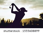Silhouette Of  Young...