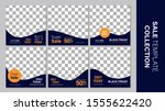 sale template collection for... | Shutterstock .eps vector #1555622420