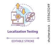 localization testing concept...