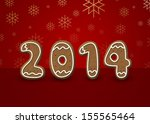 christmas and new year...   Shutterstock . vector #155565464