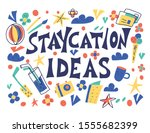 Staycation Ideas Poster In...