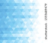 abstract triangular background. ... | Shutterstock .eps vector #1555689479