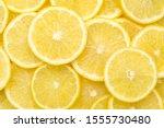 Fresh Lemon Slices Pattern...