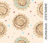 abstract scandinavian swirl... | Shutterstock .eps vector #1555760840