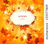 bright autumn background with...