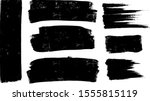 vector paintbrush set  brush... | Shutterstock .eps vector #1555815119