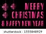 happy new year banner....   Shutterstock .eps vector #1555848929