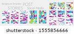 creative backgrounds for social ... | Shutterstock .eps vector #1555856666