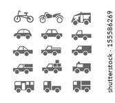 car icons | Shutterstock .eps vector #155586269