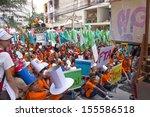 chiangmai september 19 ... | Shutterstock . vector #155586518