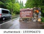 Glacier National Park Entrance...