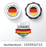 made in germany icon set...   Shutterstock .eps vector #1555932713