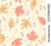 fall autumn thanksgiving... | Shutterstock .eps vector #1555986083