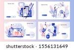 dental clinic concept. dental...   Shutterstock .eps vector #1556131649